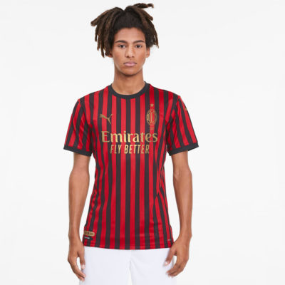 AC-Milan-120th-Anniversary-Home-Authentic-Men's-Jersey